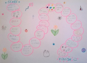 Szkoła językowa IN WONDERLAND Alica Zielińska-Biegaj autorskie gry