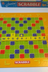 Scrabble IN WONDERLAND
